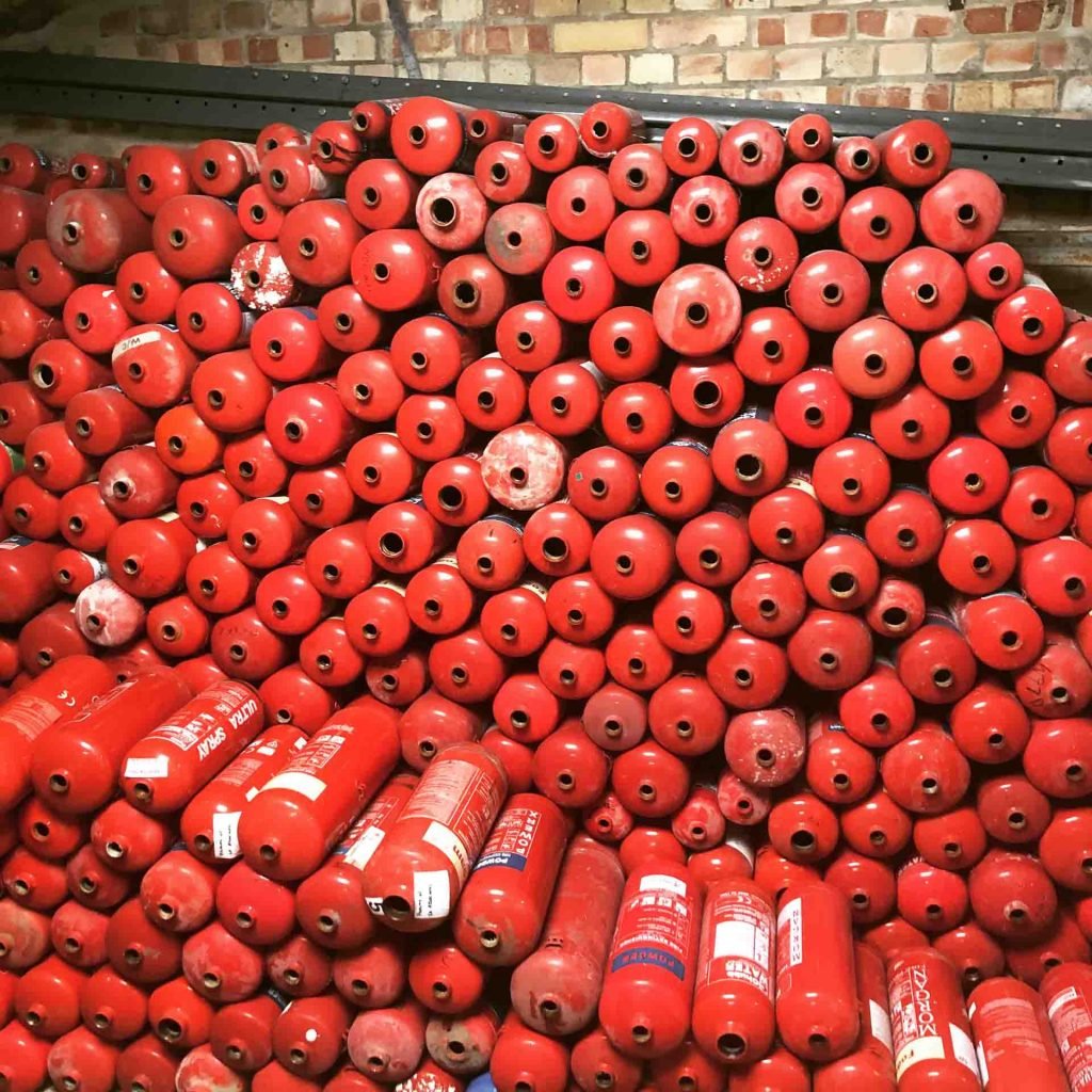 Fire Extinguisher Recycling Cambridge