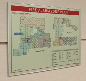 Fire Zone Plan cambridge
