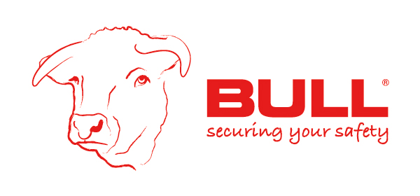 BullProducts_LogoL_Outline_SecuringYourSafety_Bradley-Hand-Bold_Red