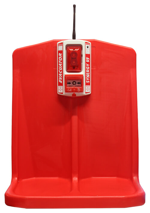 double extinguisher stand with synergy RF