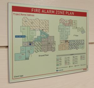 Fire Zone Plan cambridge